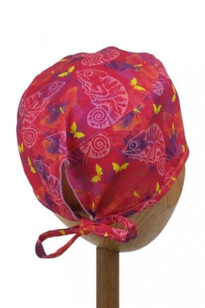 czepki-damskie Zdravotnická čepice Sunrise Uniforms Style Unisex chameleoni