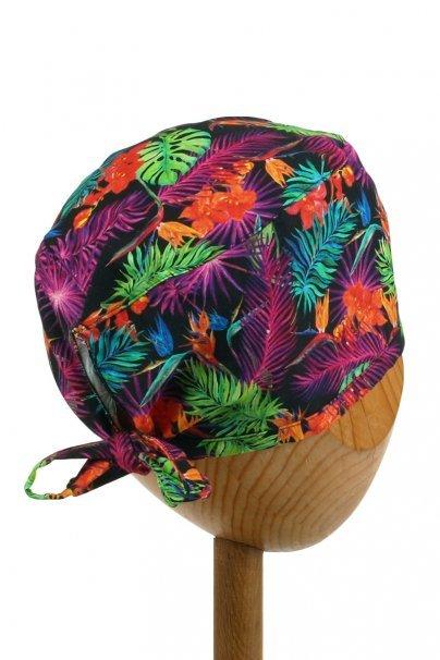 czepki-damskie Zdravotnická čepice Sunrise Uniforms Style Unisex barevné listy