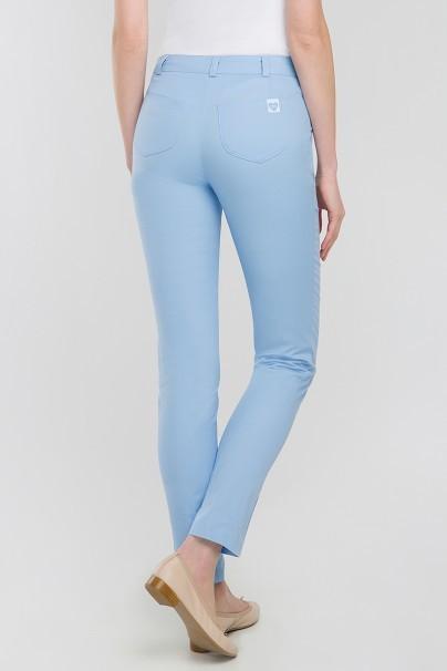 kalhoty-1-1 Lékařské kalhoty Vena Cindy Slim klasický modré