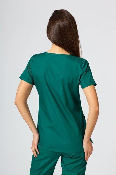 bluzy-medyczne-damskie Lékařská halena Maevn Red Panda zelená