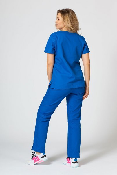 komplety-medyczne-damskie Zdravotnická souprava Maevn Red Panda královsky modrá
