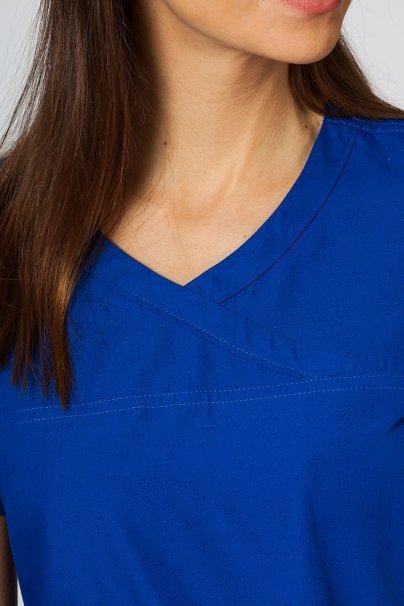 bluzy-2 Lékařská halena Maevn Red Panda Asymetric tmavě modrá