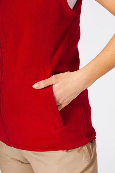 mikiny-2 Dámská vesta Malfini červená