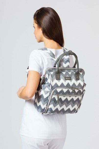 torby-medyczne Lékařská taška Maevn ReadyGO Mini šedé pruhy