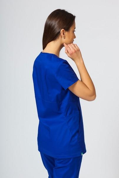 bluzy-2 Dámská zdravotní halena Sunrise Uniforms Kangaroo (elastická), tmavě modrá