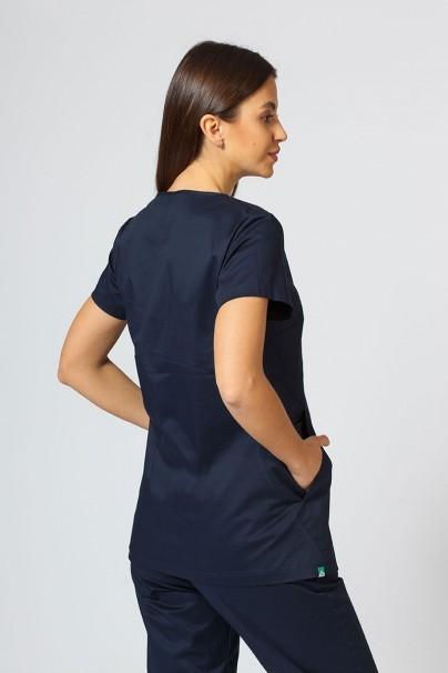 bluzy-2 Dámská zdravotní halena Sunrise Uniforms Kangaroo (elastická), námořnická modř
