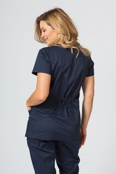 bluzy-medyczne-damskie Dámská lékařská halena Sunrise Uniforms Fit (elastická), námořnická modř