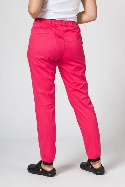 kalhoty-1-1 Lékařské kalhoty Sunrise Uniforms Active (elastické), malinové
