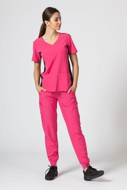 kalhoty-1-1 Dámské kalhoty Maevn Matrix Impulse Jogger růžové