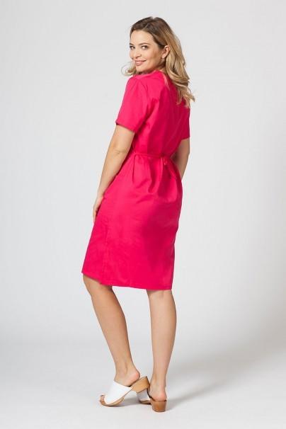 saty-1 Lékařské jednoduché šaty Sunrise Uniforms malinové