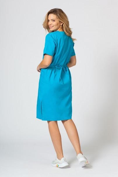 saty-1 Lékařské jednoduché šaty Sunrise Uniforms tyrkysové