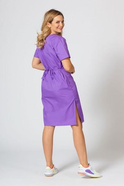 saty-1 Lékařské jednoduché šaty Sunrise Uniforms fialové