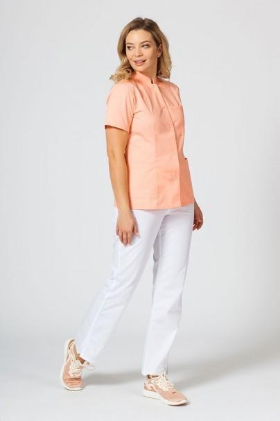 saka-1 Lékařské sako Sunrise Uniforms lososová