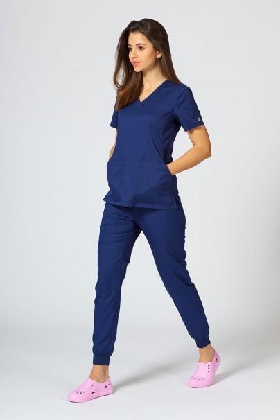 kalhoty-1-1 Dámské kalhoty Maevn EON Sporty & Comfy jogger námořnická modř