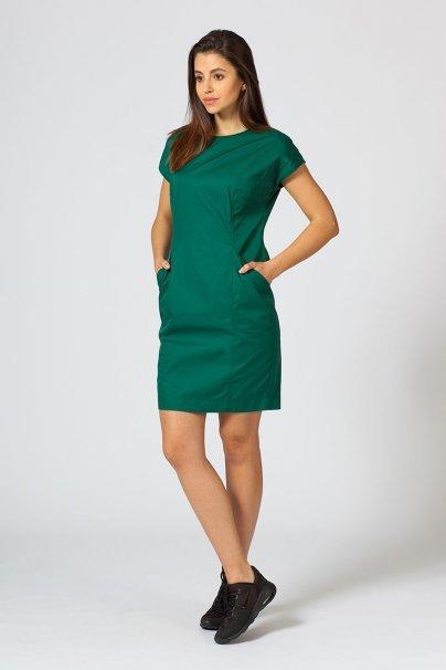 saty-1 Šaty Sunrise Uniforms Elite tmavě zelená