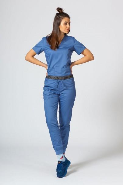 kalhoty-1-1 Dámské kalhoty Maevn EON Sporty & Comfy jogger modré