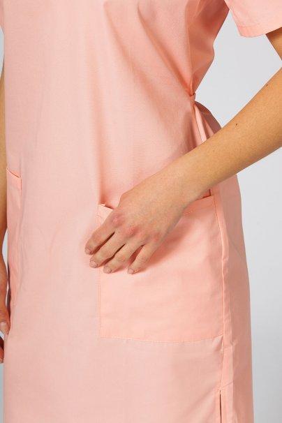 saty-1 Lékařské jednoduché šaty Sunrise Uniforms lososové
