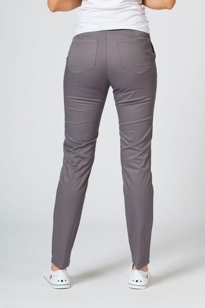 kalhoty-1-1 Dámské lékařské kalhoty Slim (elastic) Sunrise Uniforms šedé