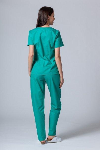 komplety-medyczne-damskie Zdravotnická souprava Sunrise Uniforms zelená