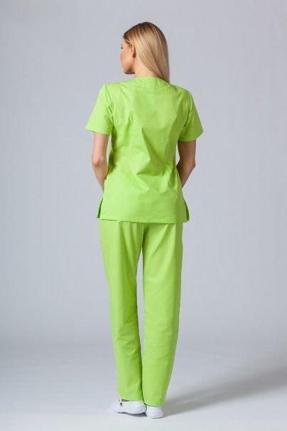 komplety-medyczne-damskie Zdravotnická souprava Sunrise Uniforms limetková