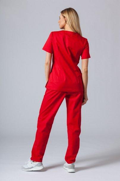 komplety-medyczne-damskie Zdravotnická souprava Sunrise Uniforms červená