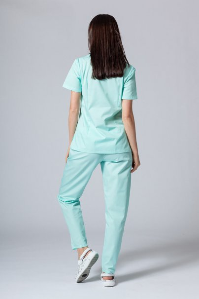 komplety-medyczne-damskie Zdravotnická souprava Sunrise Uniforms mátová