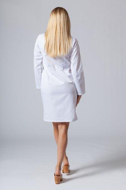fartuchy-medyczne-damskie Zdravotnická zástěra s dlouhým rukávem Sunrise Uniforms bílá