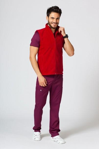 mikiny-1 Pánská vesta Malfini červená
