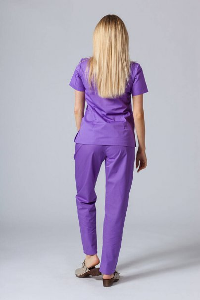 komplety-medyczne-damskie Zdravotnická souprava Sunrise Uniforms fialová