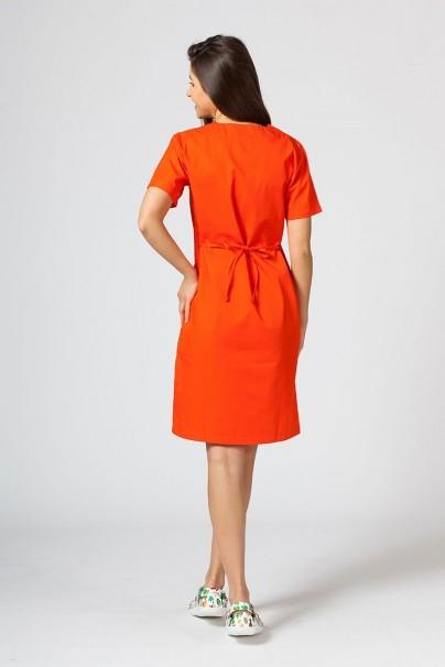 saty-1 Lékařské Jednoduché šaty Sunrise Uniforms oranžové