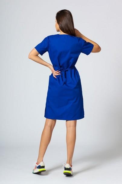 saty-1 Lékařské jednoduché šaty Sunrise Uniforms tmávě modré
