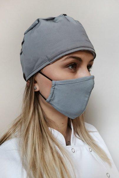 ochranne-rousky Ochranná maska Maevn, dvouvrstvá (s technologií AGION®), unisex, šedá