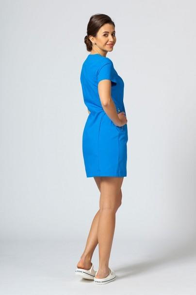 tuniky-1 Zdravotnická / kosmetická zástěra/tunika MeClo modrá