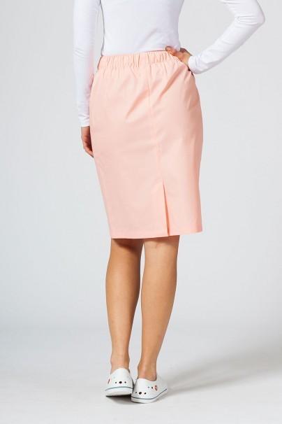 sukne-1 Dlouhá zdravotnická sukně Sunrise Uniforms lososová