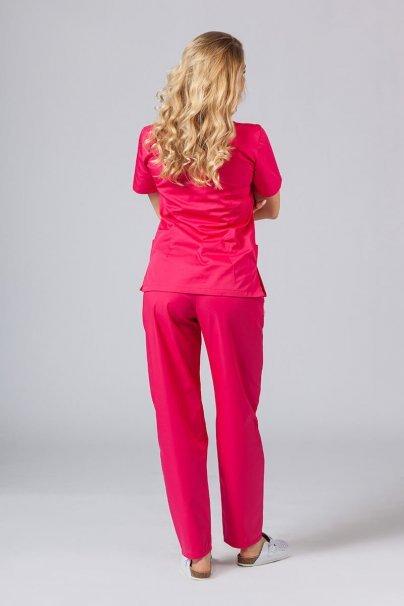 komplety-medyczne-damskie Zdravotnická souprava Sunrise Uniforms malinová