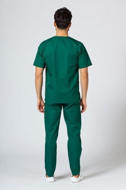 bluzy-1-1 Univerzální lékařská mikina Sunrise Uniforms tmavě zelená