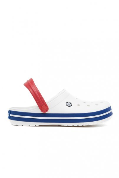 obuwie-medyczne-damskie Obuv Crocs™ Classic Crocband bílá/blue jean