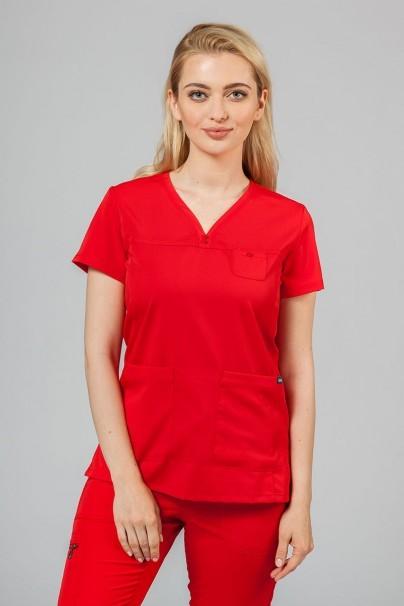 soupravy Lékařská souprava Adar Uniforms Ultimate červená (s halenou Sweetheart - elastic)