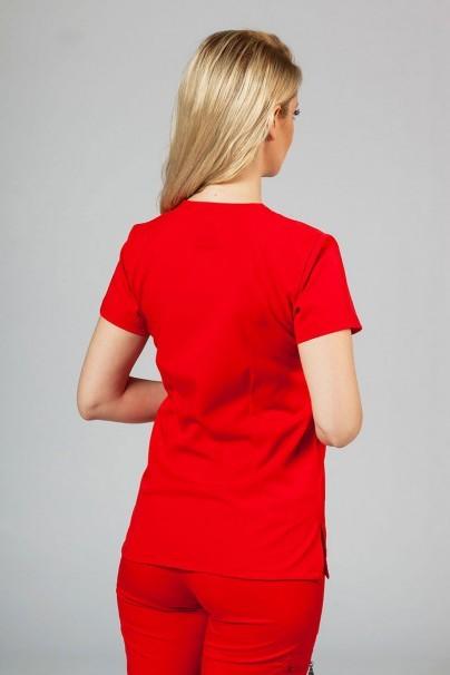 bluzy-2 Dámská halena Adar Uniforms Sweetheart červená