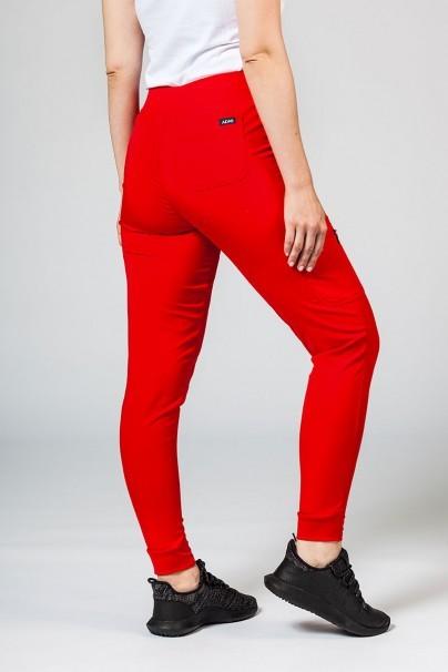 kalhoty-1-1 Dámské kalhoty Adar Uniforms Ultimate Yoga Jogger červené