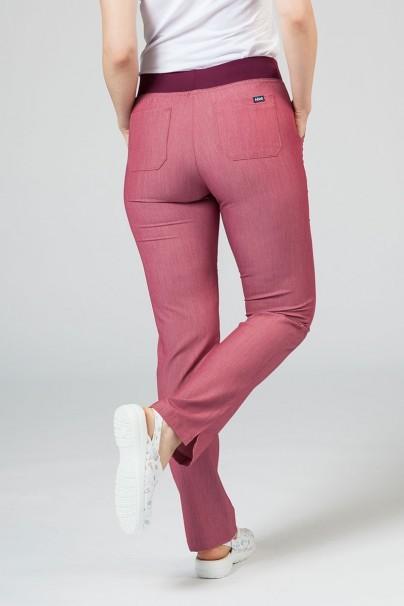 kalhoty-1-1 Dámské kalhoty Adar Uniforms Leg Yoga vřesové