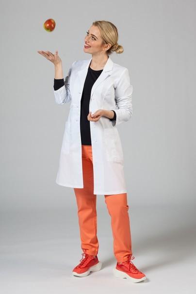 plaste-2 Lékařský plášť Adar Uniforms Tab-Waist bílý (elastický)
