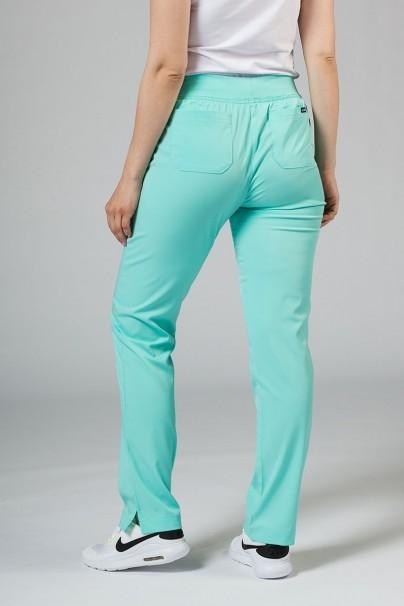 kalhoty-1-1 Dámské kalhoty Adar Uniforms Leg Yoga aqua