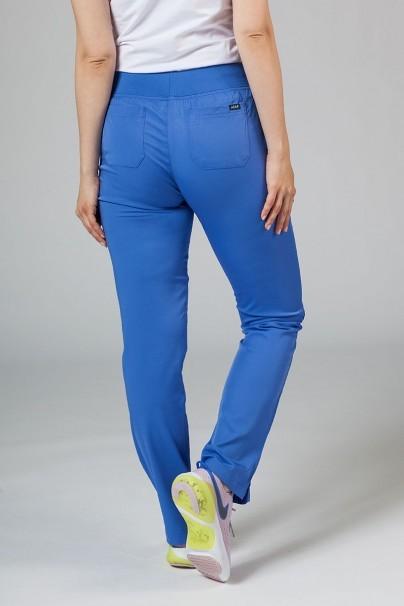 kalhoty-1-1 Dámské kalhoty Adar Uniforms Leg Yoga klasicky modré