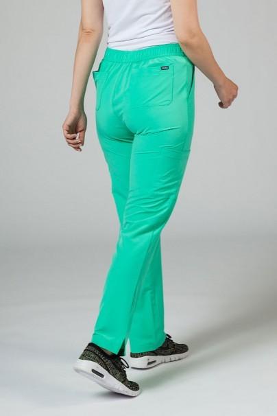 kalhoty-1-1 Dámské kalhoty Adar Uniforms Skinny Leg Cargo světle zelené