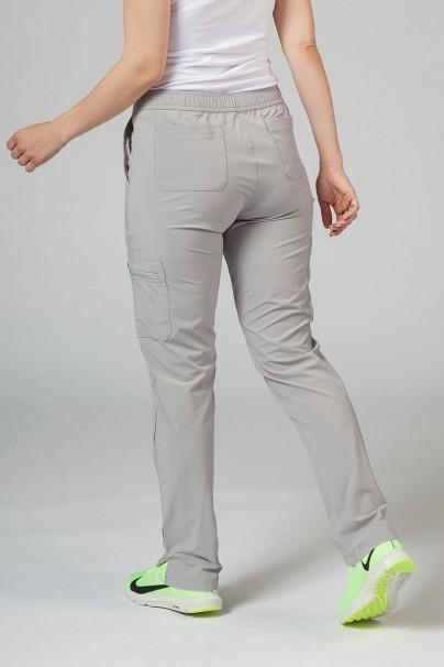kalhoty-1-1 Dámské kalhoty Adar Uniforms Skinny Leg Cargo světle šedé
