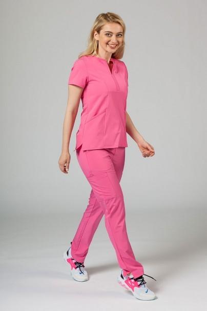 bluzy-2 Dámská halena Adar Uniforms Notched růžová