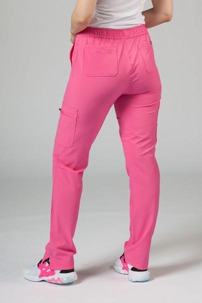 kalhoty-1-1 Dámské kalhoty Adar Uniforms Skinny Leg Cargo růžové