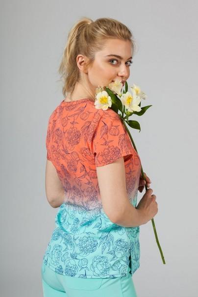 vzorovane-haleny Lékařská halena Maevn Prints slunečné květiny