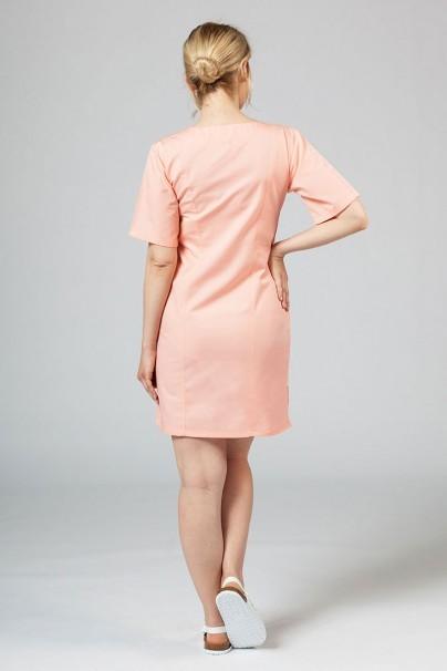 saty-1 Lékařské klasické šaty Sunrise Uniforms lososové